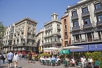 スペイン バルセロナ ランブラス通り