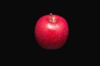 赤いふじりんご