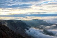 雲海の中の美ヶ原