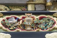 栃木県 陽明門の彫刻(平成の大修理完成後)