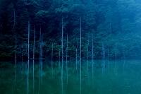 長野県 御岳自然湖
