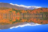 長野県 紅葉の青木湖