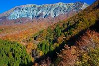 鳥取県 鍵掛峠より大山