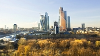 ロシア モスクワ ビジネス街