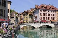 フランス アヌシーの街