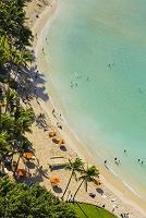 ワイキキビーチ オアフ島 ハワイ アメリカ合衆国