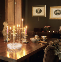 クリスマス テーブルコーディネート