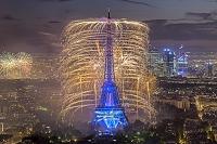 フランス パリ エッフェル塔 イルミネーション