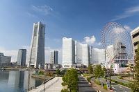 神奈川県 横浜みなとみらい21のビル群