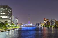 東京都 夜の永代橋