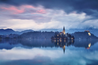 スロベニア ブレッド湖