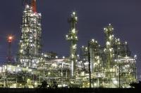 三重県 四日市市の工場夜景