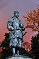 愛知県 岡崎市 徳川家康銅像