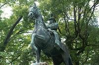 有栖川宮熾仁騎馬像 有栖川宮記念公園 港区 東京都