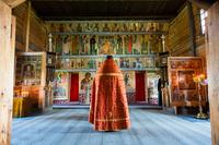 ロシア キジ島 生神女庇護聖堂