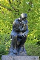 東京都 国立西洋美術館 彫刻「考える人」