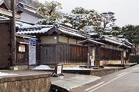 鳥取県 雪の智頭宿