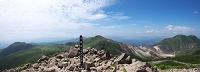 大分県 久住山頂上からの眺望