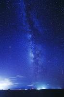 沖縄県 天の川と伊良部島