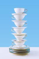 重ねられたコーヒーカップ