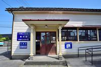 富山市 旧富山港線東岩瀬駅 駅舎