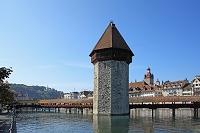 スイス ルツェルン カペル橋