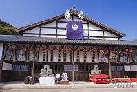 香川県 旧金毘羅大芝居 金丸座