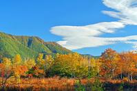 長野県 乗鞍高原と雲