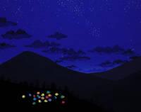 テントの星