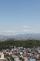 大阪府 堺市 堺の街並みと仁徳天皇陵