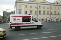 ロシア モスクワ 救急車