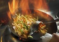 中華鍋で作る炒め物