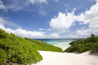 沖縄県 砂山ビーチの風景
