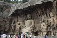 中国 奉先寺の盧舎那仏座像