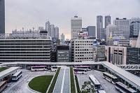 東京都 新宿駅新南口のバスターミナル バスタ新宿