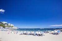 静岡県 夏の熱海サンビーチ