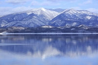 秋田県 田沢湖と秋田駒ケ岳