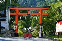滋賀県 日吉大社鳥居