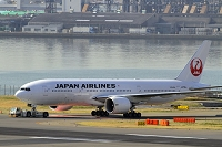 東京都 羽田空港 JAL ボーイング777