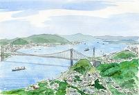 福岡県・関門海峡