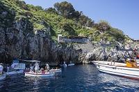 イタリア カプリ島 青の洞窟の入り口
