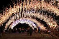 神奈川県 宮が瀬のクリスマスイルミネーション