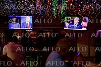 2020年米大統領選 両候補が同時刻にテレビ集会