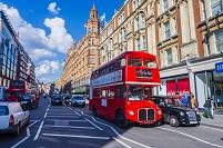 イギリス ロンドン 二階建てバス
