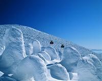 山形県・山形市 蔵王の樹氷とロープウェー