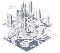 ブロックタウン未来都市 B-1-2-4-5-6-8-9