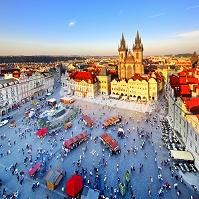 チェコ プラハ 旧市街広場