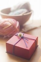 プレゼントと編み物