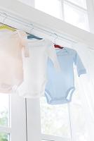 ベビー服の洗濯物