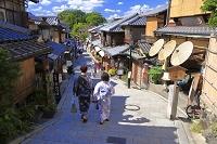 京都府 夏の二年坂